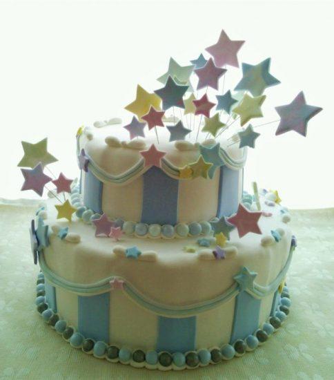 クレイオーダー:お星さまの2段ケーキ
