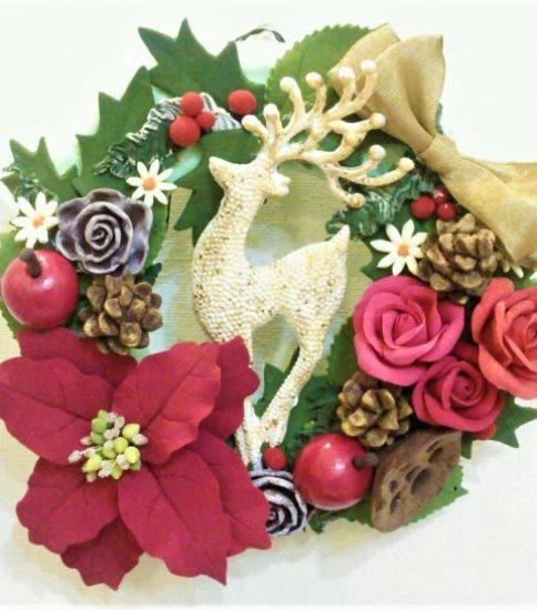 募集☆クリスマスリースづくり(全2回)☆